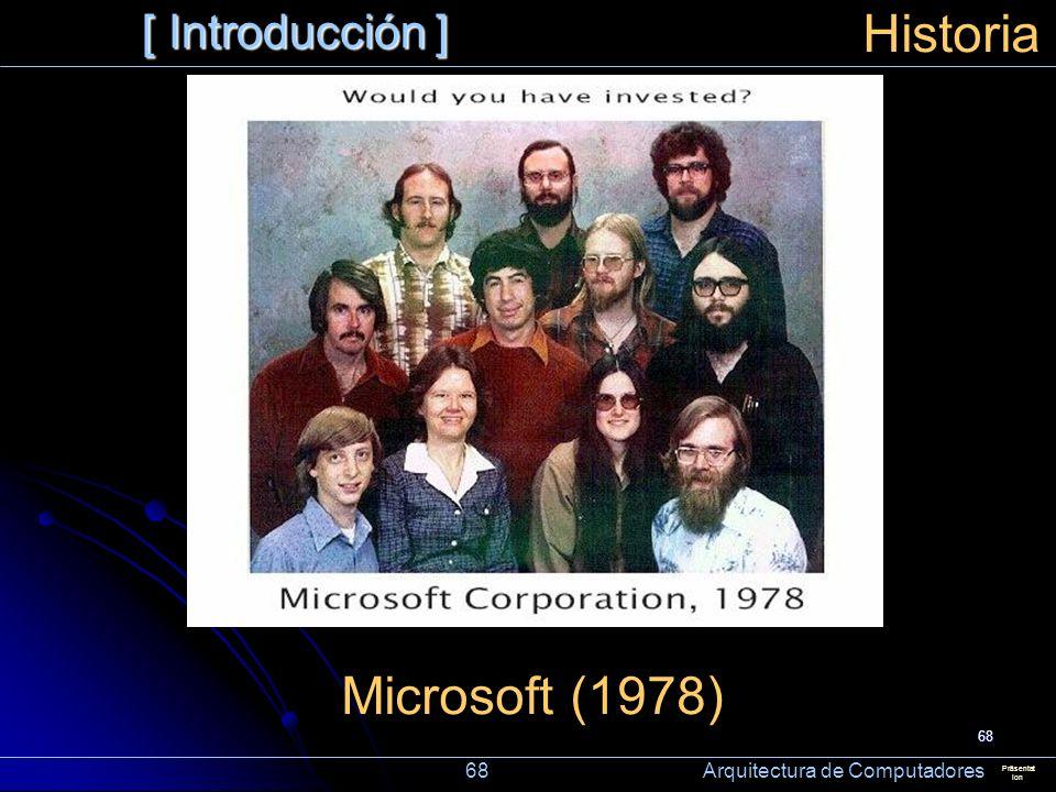Historia Microsoft (1978) [ Introducción ]